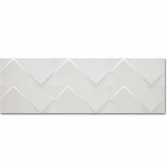 Revestimento Cerâmico Acetinado Borda Reta Prisma Branco 29,1x87,7cm - Portinari
