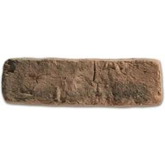 Revestimento Cimentício Brique Puro Carvão 21x6,5cm - Passeio
