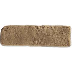 Revestimento Cimentício Brique Terracota 21x6,5cm - Passeio