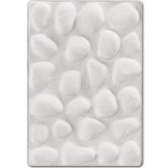 Revestimento Cimentício Seixos de Ganges Marfim 22x15cm - Revest
