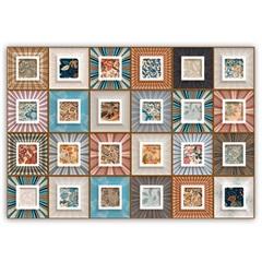 Revestimento Cork Color Retificado Esmaltado Decorado 43,7x63,1cm - Ceusa