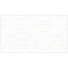 Revestimento Cristalatto Alto Brilho Plano Branco 32x57cm - Cecafi