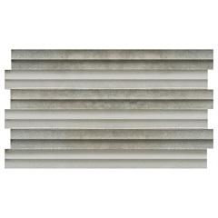 Revestimento de Encaixe Borda Bold Impermeável Cinza 31x54cm - Savane