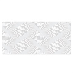 Revestimento Esmaltado Acetinado Borda Reta Joaquina 43,2x91cm - Ceusa