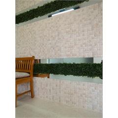 Revestimento Esmaltado Acetinado Borda Reta Mosaik Travertine 43,7x63,1cm