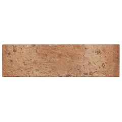 Revestimento Esmaltado Borda Bold Abbey Road Terracota 6,5x23cm - Portobello