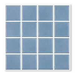Revestimento Esmaltado Borda Bold Prisma Celeste Azul Claro 7,5x7,5cm - Portobello