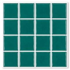 Revestimento Esmaltado Borda Bold Prisma Esmeralda Verde 7,5x7,5cm - Portobello