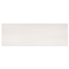 Revestimento Esmaltado Borda Reta White Home Branco Origens 30x90cm - Portobello