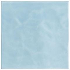 Revestimento Esmaltado Brilhante Borda Bold Azul Céu Onda 20x20cm - Eliane