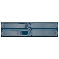 Revestimento Esmaltado Brilhante Borda Bold Krea Miami Deep Sea Azul Royal 10x40cm - Portobello