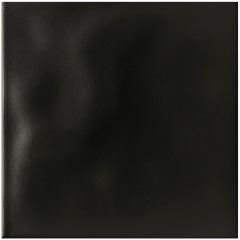 Revestimento Esmaltado Brilhante Borda Bold Rima Lux Black 20x20cm - Portinari