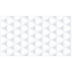 Revestimento Esmaltado Brilhante Borda Reta Geometrie Branco 32x59cm - Incepa