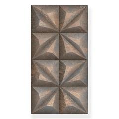 Revestimento Everest Metallo Marrom 38x74cm - Savane