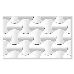 Revestimento Hd Brilhante Borda Bold Catavento Branco 35x57cm - Formigres