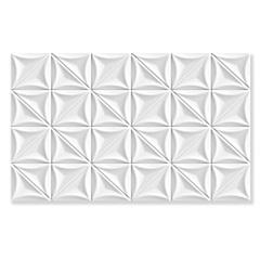 Revestimento Hd Brilhante Borda Bold Sense Branco 35x57cm