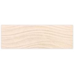 Revestimento Listelo Retificado Acetinado Studio Limestone Bege 29,1x87,7cm  - Cecrisa