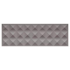 Revestimento Matte Borda Reta Quadra Prisma Dark Gray 29,1x87,7cm - Portinari