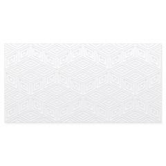 Revestimento Matte Borda Reta Realce White 29,1x58,4cm - Portinari