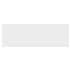 Revestimento Matte Retificado Zeus Branco 30x90cm - Eliane