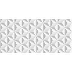 Revestimento Nuance Pirâmide Retificado Esmaltado Branco 43,2x91cm - Ceusa