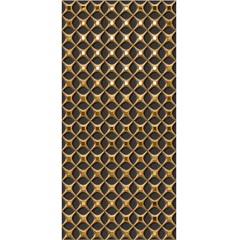 Revestimento Palais Off 43,2x91cm Dourado E Marrom - Ceusa