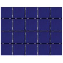 Revestimento para Piscina Azul Naval 7,5x7,5 Cx. 1,59 M²  - Eliane