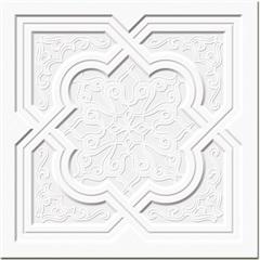 Revestimento Platrê Translúcido 20,3x20,3cm Branco - Ceusa