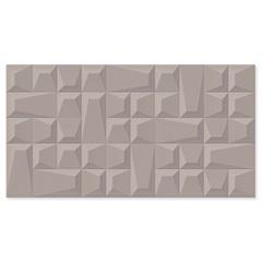 Revestimento Relevo Borda Reta Geometric Fendi 32x60cm - Biancogres