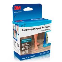 Rolo de Fita Antiderrapante Safety-Walk para Banheiro 50mm com 5 Metros Transparente - 3M