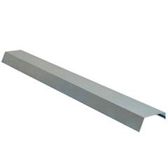 Rufo Pingadeira Galvanizado 28cm com 2 Metros - Calha Forte