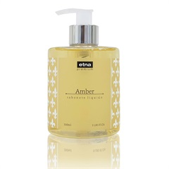 Sabonete Líquido Premium 350ml Amber - Casa Etna