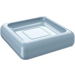 Saboneteira Cube 2,5x10cm Azul Fog - Coza