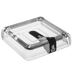 Saboneteira Cube Transparente  - Coza