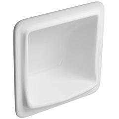 Saboneteira de Embutir 18x18cm Branca - Deca