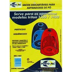 Saco Descartárvel para Aspirador Arno Triton  - Porto Pel