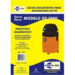 Saco Descartável para Aspirador Electrolux Gt3000               - Porto Pel