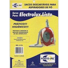 Saco para Aspirador de Pó Descartável, Electrolux Listo - Porto Pel