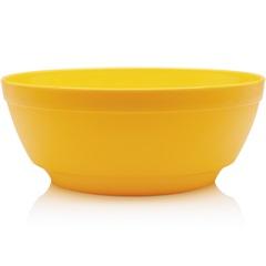 Saladeira Luna Cristal 1,8 Litros Amarelo - Domus