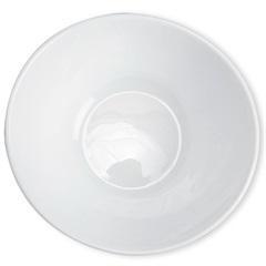 Saladeira Redonda Prometeo Branca 15cm - Casa Etna
