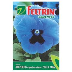 Semente de Flor Amor Perfeito Azul 100mg - Feltrin