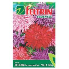 Semente de Flor Aster da China 350mg - Feltrin