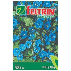 Semente de Flor Facélia Azul 400mg - Feltrin