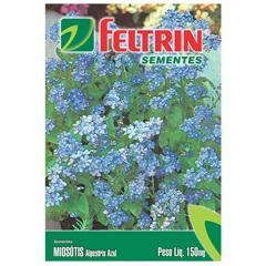 Semente de Flor Miosótis Alpestriz Azul 150mg - Feltrin