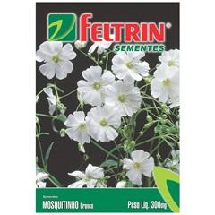 Semente de Flor Mosquitinho Branco 300mg - Feltrin