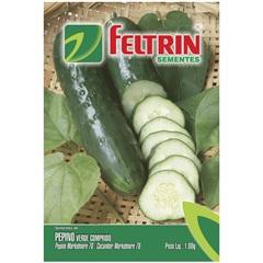 Sementes de Pepino Verde Comprido 1g - Feltrin