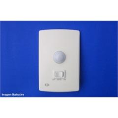 Sensor de Presença com Chave 4x2 Pial Plus  - PW