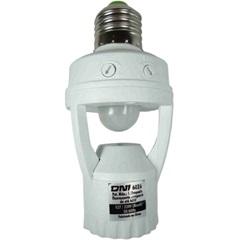 Sensor de Presença E Fotocélula Bivolt para Soquete E27 Branco - Key West