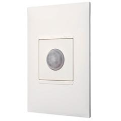 Sensor de Presença Universal com Fotocélula Bivolt Plusmais Branca