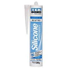 Silicone Neutro Transparente 280g - Tekbond